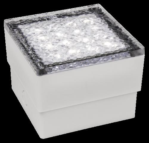 LED Bodenleuchte Pflasterstein IP65 1,5Watt 230Volt