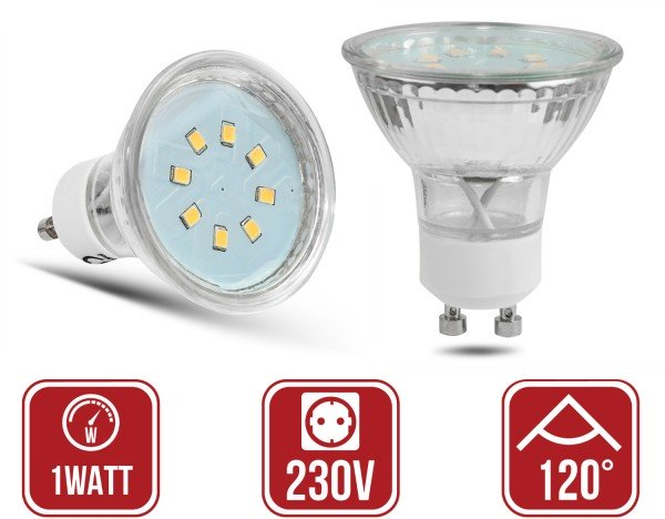 GU10 1Watt led lamp