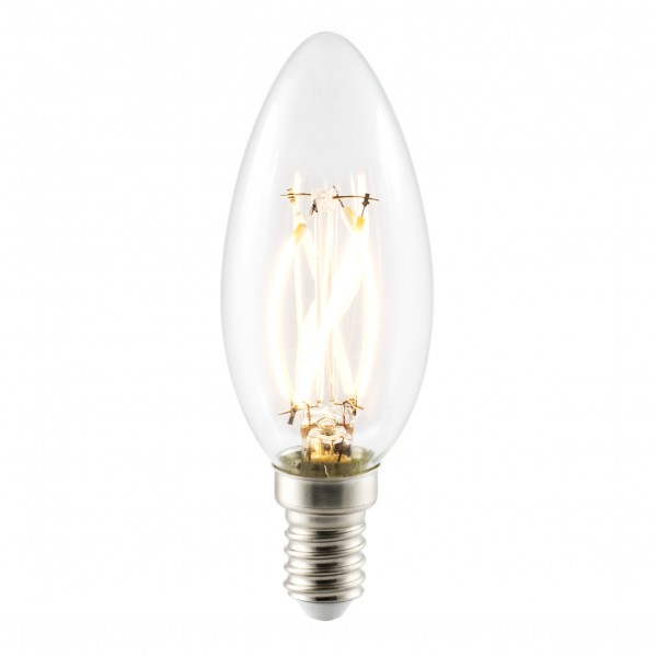 E14 4Watt Filament LED Leuchtmittel flicker free